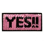 Reversible flip Sequin Patch Applique by PC, TR-11880