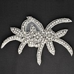 Rinestones Beaded Applique Patch by PC, TR-10227