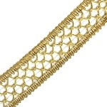 Metallic Braid Trim by yard, SEA-GTM556