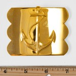 Anchor Motif Metal Belt Buckle by 1 PC, LT-5513