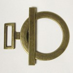 Metal Buckle Closure, A8448