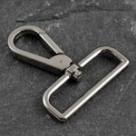 Metal D Ring Swivel Lobster Clasps Clips by PC, TR-11275