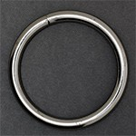 2''(50mm) Metal O-Ring Buckle w/Cutting by PC, SP-2449