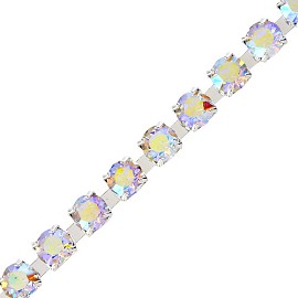 6.14mm (SS 29) Rhinestone Chain Trims by yard