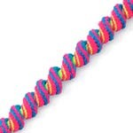 5mm Spiral Elastic Craft Cord Trim by yard, STEP-1964