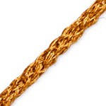 4.5mm Metallic Craft Cord by Yard, MAY-AL315
