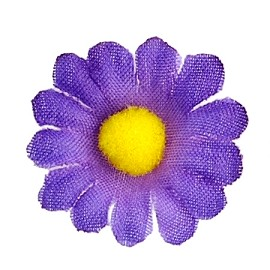 "7/8"" Dia. Daisy Flower Applique by PC, MAK-DR-8056"