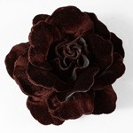 Velvet Flower Pin by PC, FL-1007