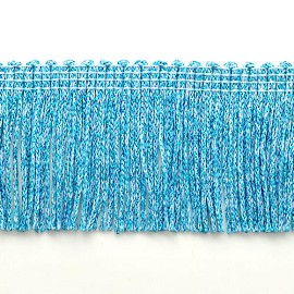 "2"" Chainette Polyester Fringe by 1 Yard, BADE-1034"