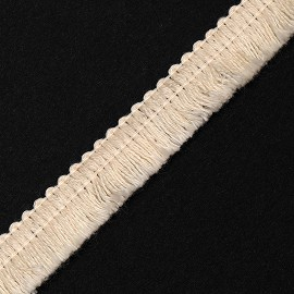 "15mm (5/8"") Decorative Cotton Fringe Trim by Yard, TR-11090"
