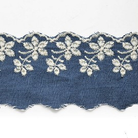 Embroidery English Lace Trim by YD, STEP-5311