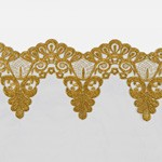 Metallic Lace Trim by Yard, LP-MX-5585