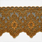 Metallic Lace Trim by Yard, LP-MX-619