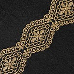 Metallic Gold Thread Lace Trim by Yard, LP-ST-4442