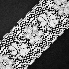Raschel Lace Trim by Yard, ROI-2479