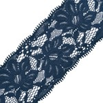 Floral Raschel Elastic Lace Trim by YD, STEP-9093