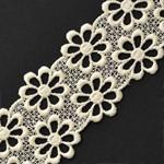 Venise Flower Lace Ribbon Trim by YD, STEP-3718
