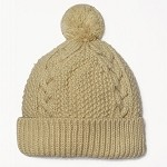 Winter Knit Pompom Beanie Hat by pc, EJ-1001