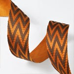Chevron Webbing band ribbon trim, waist belt by Yard, TR-11244