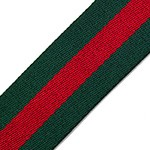 Striped Webbing Band Ribbon Trim by Yard, TR-11838