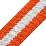 Striped Webbing Band Ribbon Trim by Yard,  TR-11841