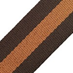 Striped Webbing Band Ribbon Trim by Yard, TR-11842