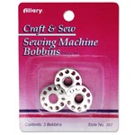 Sewing Machine Bobbins by Set (3 Bobbins), ALLARY-387