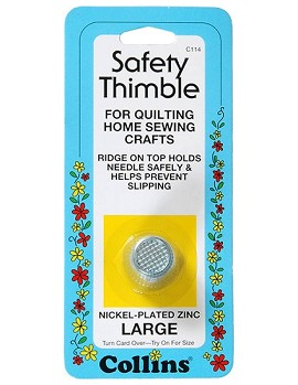 Large Safety Thimble by Each, COLN-C114