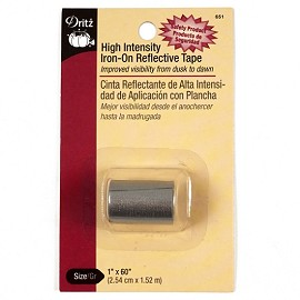 High Intensity Iron-On Reflective Tape by each, DRI-651