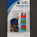 30 Eyelets/Tools by set (30 eyelets), PRYM-14015