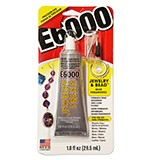 E6000 Craft 1.0 oz Jewelry and Bead Clear Adhesive by each