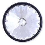 20mm Swarovski Crystal 1770 Rhinestone button with shank