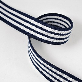"1"" (26mm) Elastic Stretch Ribbon Band Trim by Yard, SP-2336"