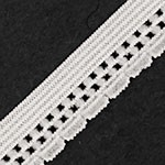 1/2'' (13mm) Elastic Stretch lingerie 1 Yard for Stretch Elastic Band, headband, hand band and waist belt, STEP-1942