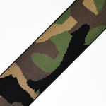 Military Pattern Elastic Stretch Ribbon Band Trim by 1-yard, TR-11345