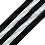 Twill Elastic Stretch Ribbon Trim by 1-yard, TR-11155