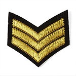 Embroidered Iron-On Applique Patch, Army Embroidery Badge by pc, TR-11421