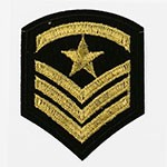 Embroidered Iron-On Applique Patch, Army Embroidery Badge by pc, TR-11440