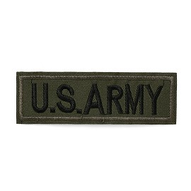 US ARMY Embroidered Iron-On Applique Patch, Embroidery Patch by pc, TR-11438