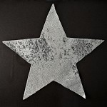 Star Sequin Iron-On Patch Applique by PC, TR-10890L