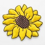Sunflower Iron-on Applique Patch by PC, PA-IA-T03855