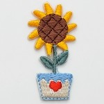 Sunflower Iron-on Applique Patch by PC, PA-IA-T03862