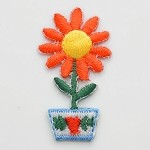 Flower Iron-on Patch Applique Patch by PC, PA-IA-T03863