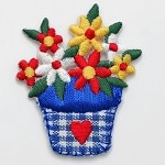 Flower Iron-on Applique Patch by PC, PA-IA-T03914