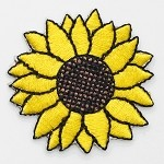 Sunflower Iron-on Applique Patch by PC, PA-IA-T03854/5