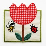 Tunlip Iron-on Applique Patch by PC, PA-IA-T03917