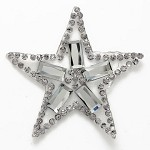 Star Rhinestone Crystal iron-on Applique Patch by PC, TR-11040