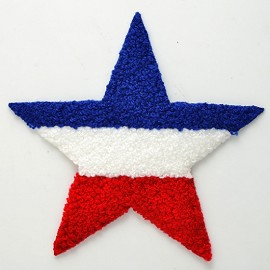 Star Chenille Iron-On Applique Patch by PC, PA-BB-CH558A