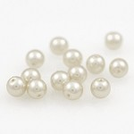 4mm Plastic Pearl Beads by 360 pcs