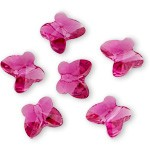 6mm Swarovski Crystal 5754 Butterfly Beads